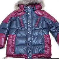 Зимняя куртка для мальчика 158/164