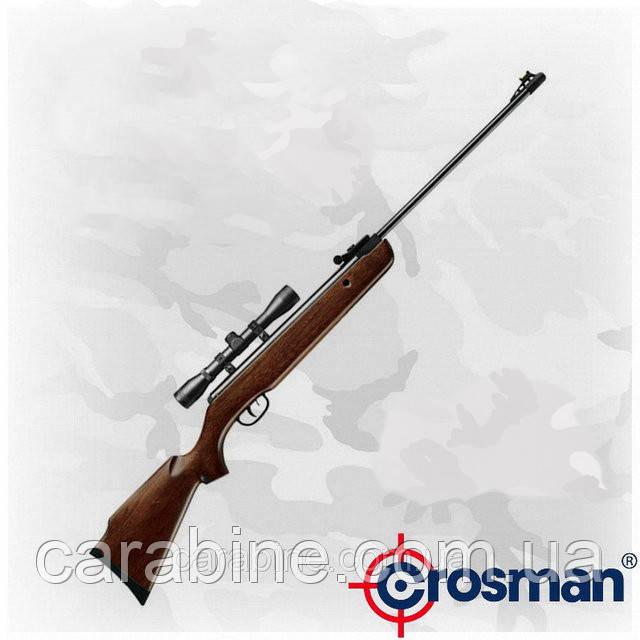 Crosman Remington Vantage NP, газопружинная пневматична гвинтівка з оптикою 4х32