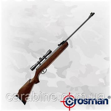 Crosman Remington Vantage NP, газопружинная пневматическая винтовка с оптикой 4х32