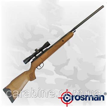 Crosman Genesis NP пневматическая винтовка с газовой пружиной и оптикой 4x32