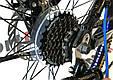 """Горный велосипед BENETTI VENTO 27,5""""  Черный/Синий, фото 7"""
