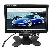 """Монитор 7"""" для камеры заднего вида + рамка в подголовник Хорошее качество Удобный дизайн Купить Код: КДН3971, фото 1"""