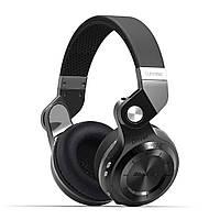 Беспроводные Bluetooth наушники Bluedio T2S с автономностью до 40 часов (Черный), фото 1