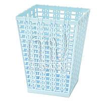 Стакан-подставка для хранения пластиковый LB1800, голубой