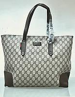 Сумка Gucci беж в логотипах, фото 1
