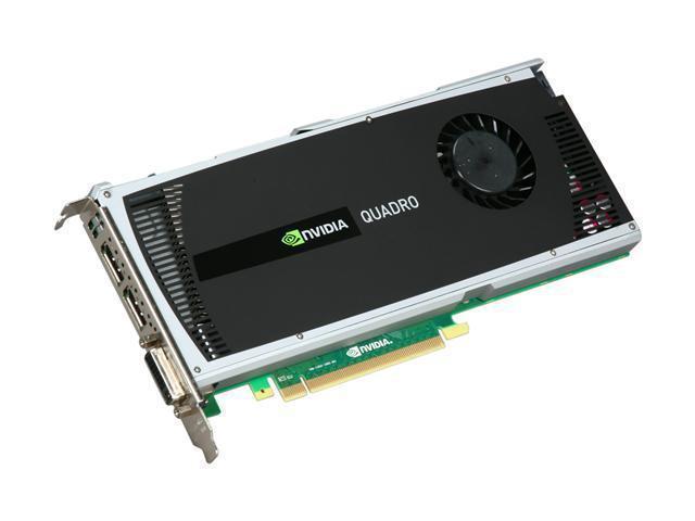 Видеокарта PNY Quadro 4000 2GB/DDR5/256Bit Б/У