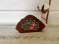 Керамическая салфетница Вишенка