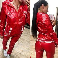 Женский спортивный костюмиз плащёвки,норма