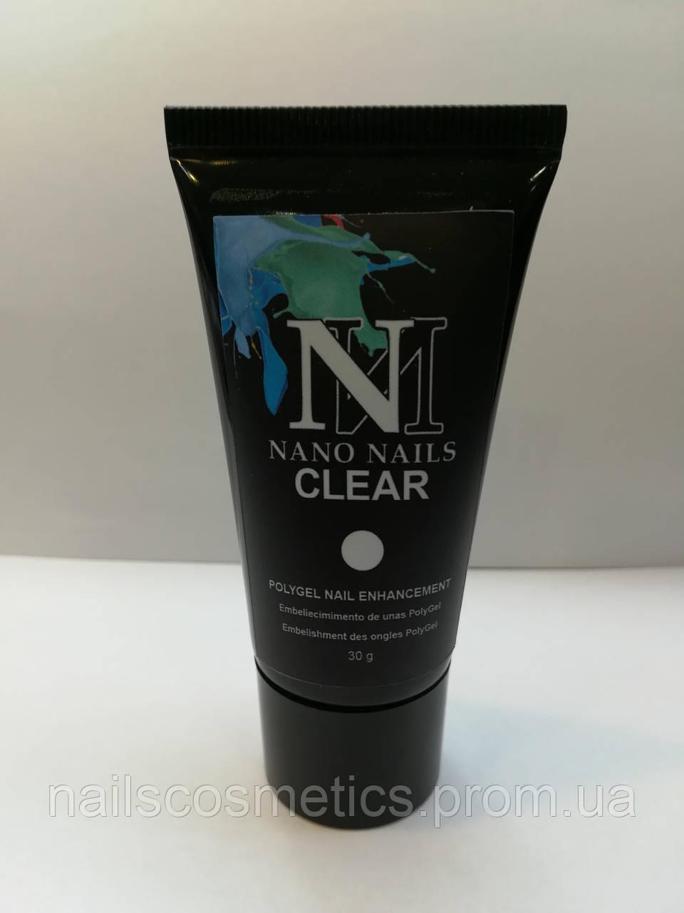 "Акригель ""CLEAR №7"" 30g NanoNails"