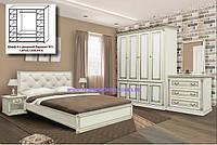 Комплект спальни 4Д Мира (Скай)