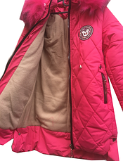 "Зимняя курточка для девочки ""Ева"", фото 3"