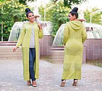 "Жіночий кардиган + батал ""В'язка"" Dress Code, фото 1"