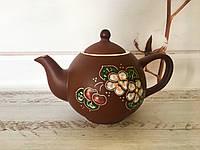Керамический чайник Вишенка 1л, фото 1
