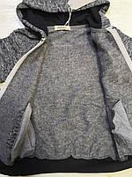 Трикотажный костюм-двойка с начесом для мальчиков оптом, Sincere, 4-12 лет., арт.R-111, фото 5