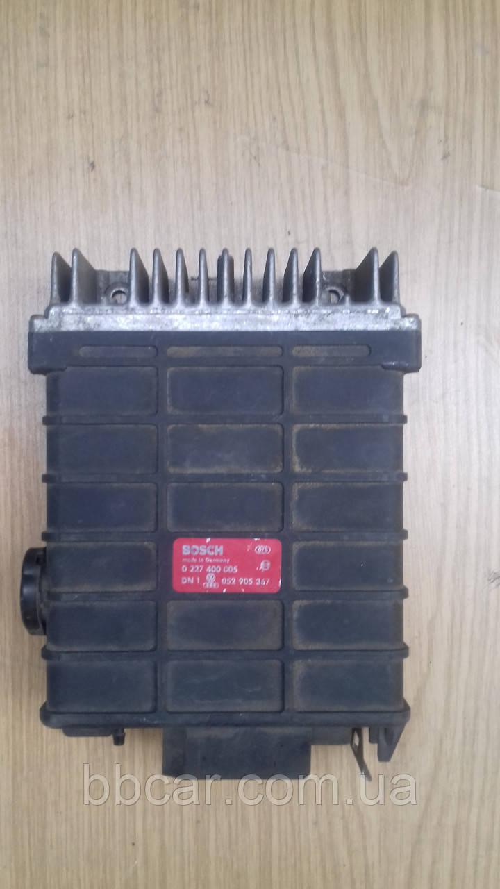 Блок управления двигателем BOSCH Volkswagen Polo-2 GTI (0227400005\052905367)