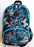 Женский Рюкзак  с бабочками. Яркая сумка портфель для девушек. Отличное качество. СЛ20