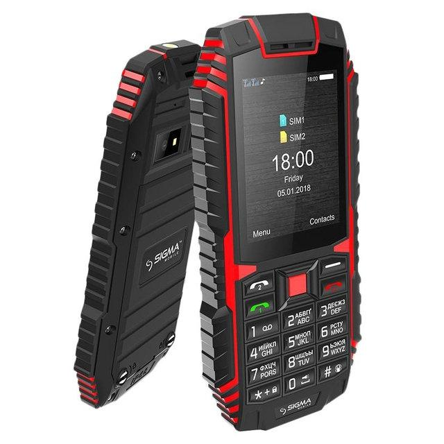 Мобильный телефон Sigma X-treme DT68 Black   2.4