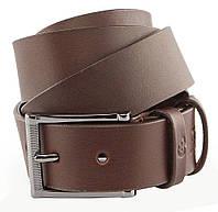 Ремень мужской GRANDE PELLE 00235 кожаный Коричневый, Коричневый, фото 1