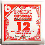 Струна Ernie Ball 1012 Plain Steel .012 (акустика\электро), фото 2