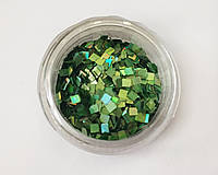 Квадратики - 12 зеленый