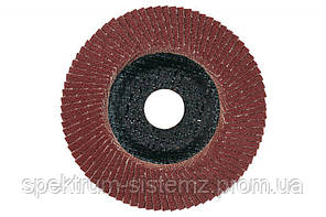 Лепестковый шлифовальный круг Metabo Flexiamant нормальный корунд P 120, 115 мм