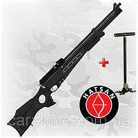 HATSAN BT65RB Elite, PCP пневматическая винтовка в комплекте с насосом