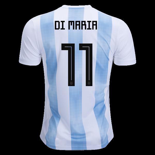 Футбольная Форма Сборной Аргентины Ди Мария (2017-2018), Adidas, Сборная,  Взрослая, Мужская, Короткий, 2017 2018, Аргентина, S — в Категории