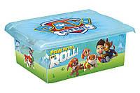 Ящик для игрушек 10 литров Paw Patrol Keeeper, фото 1