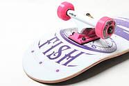 СкейтБорд деревянный от Fish Skateboard Tree Гарантия качества Быстрая доставка, фото 2