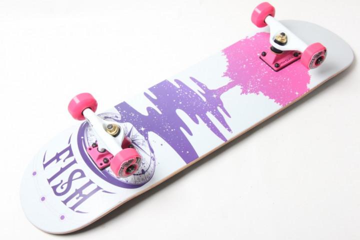 СкейтБорд деревянный от Fish Skateboard Tree Гарантия качества Быстрая доставка