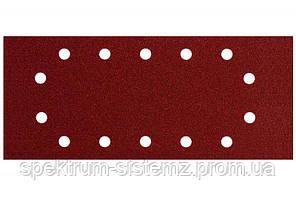 Шлифовальный лист под зажим P 60 Metabo для дерева и металла 115x280 мм, 10 шт