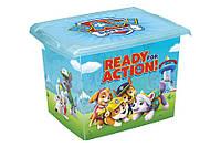 Ящик для игрушек 20.5 литров Paw Patrol Keeeper, фото 1