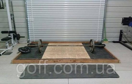 Напольное покрытие для тренажерного зала (20мм)