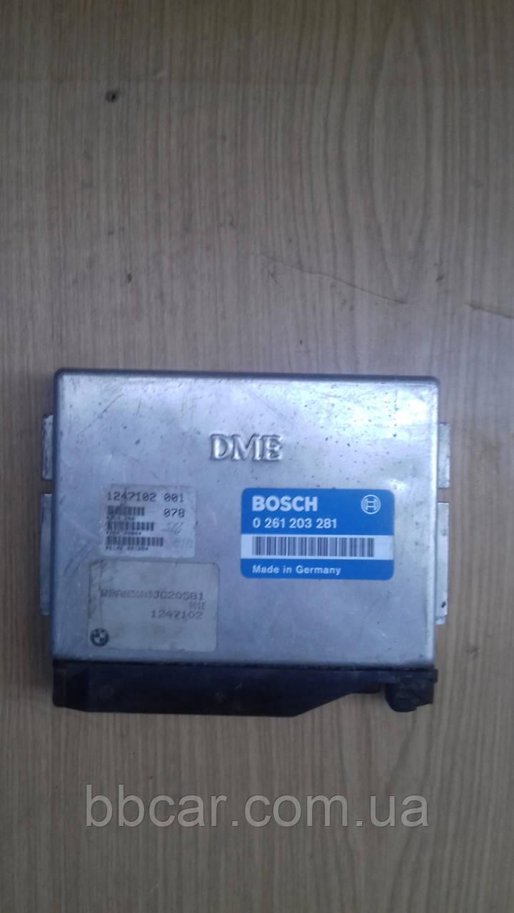 Блок управления двигателем BOSCH (DME) BMW-318 i 16V  ( 0261203281 )