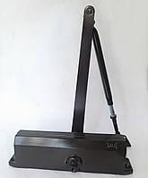 Доводчик дверной Kale KD002/50-403 с регулировкой 25-120кг коричневый (Турция)
