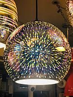 Люстра подвесная с 3D эффектом QUANTUME шар