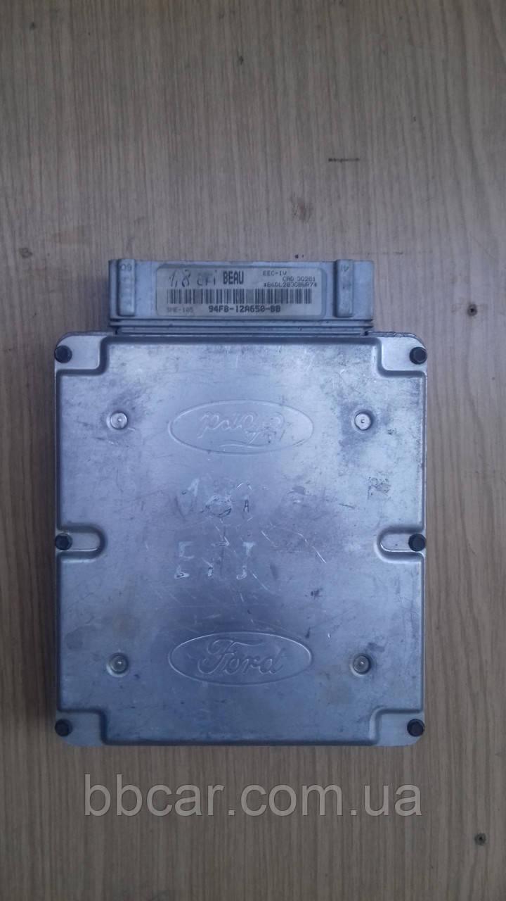 Блок управления двигателем Ford 1.8 Escort EFI  (94FB12A650BB)