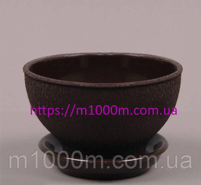 Бонсайница шелк коричневый 1л. 5511