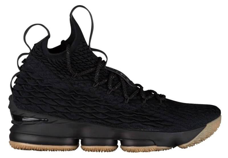 """2df0c671 Баскетбольные кроссовки Nike LeBron 15 """"Black Gum"""" Арт. 2137 - GraceS в  Северодонецке"""