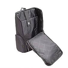 Рюкзак для ноутбука DUBYAO сірий 28х46х12 тканина поліестер ксС41сер, фото 2
