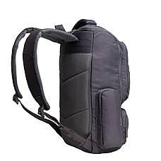 Рюкзак для ноутбука DUBYAO сірий 28х46х12 тканина поліестер ксС41сер, фото 3