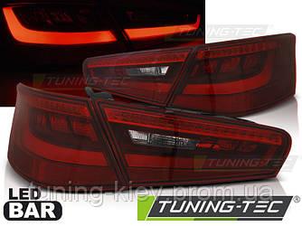 Задние фонари AUDI A3 8V 3D 12-16 RED WHITE LED