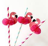 """Коктейльные трубочки """"Фламинго"""" 10шт., фото 5"""