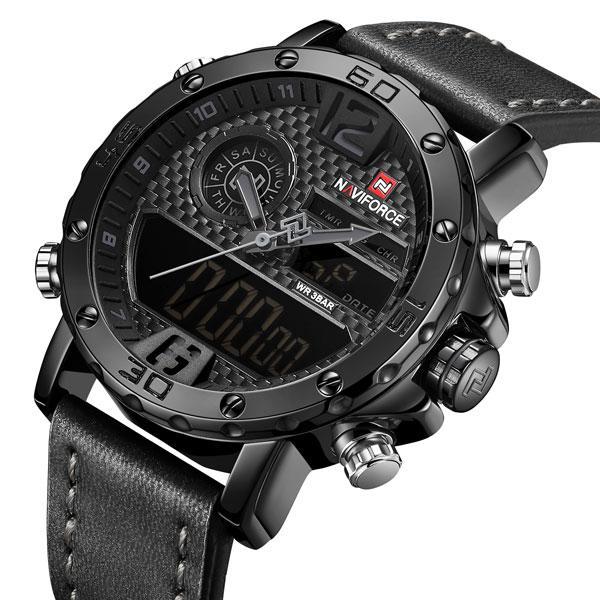 Naviforce Мужские часы Naviforce Next Black 9134