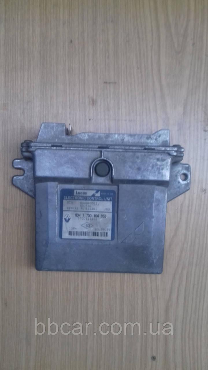 Блок управления двигателем Lucas Renault Kango 1.9 d  (HOM7700104956)