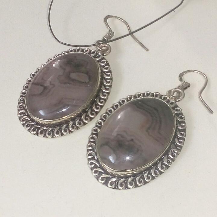 Серьги - муранское стекло в стерлинг серебре. Серьги с муранским стеклом
