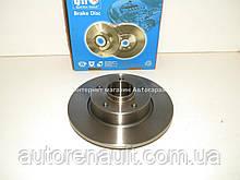 Тормозной диск задний Рено Трафик 01> (без подшипника/ без кольца ABS) QUINTON HAZELL (Великобритания) BDC5494
