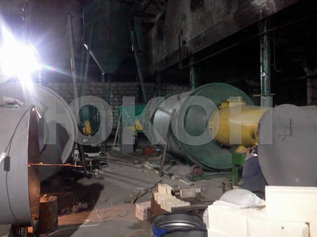 Монтаж сушильного комплекса АВМ-0,65