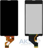 Дисплей (экран) для телефона Sony Xperia Z1 Compact D5503 + Touchscreen