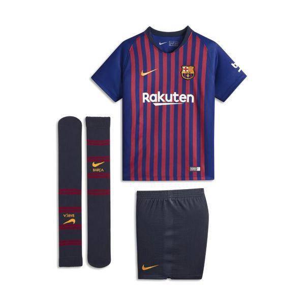 Детская футбольная форма Барселона домашняя (2018-2019), Nike, Клуб, Детская 06b953396e8
